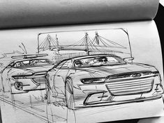 Car Design Sketch, Car Sketch, Object Drawing, Line Drawing, Drawing Furniture, Pencil Design, Sketch Inspiration, Cool Sketches, Car Drawings