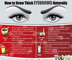 Want Cara Delevingne eyebrows? Here's how you can grow yours thicker naturally!