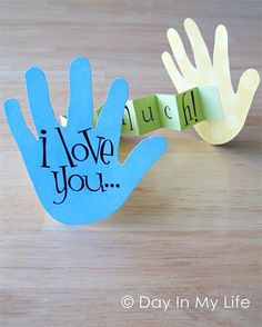 "I love this one. I have used it, for a birthday gift to a sponsored child. Can also do it with a ribbon between the hands, and label it ""a hug from far away!"""