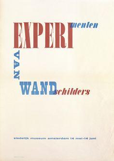 Willem Sandberg – Experimenten van wandschilders , 1948