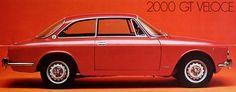 1971 Alfa Romeo 2000 GT Veloce