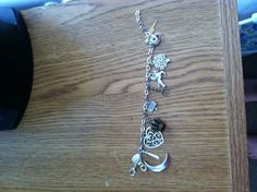 Percy Jackson inspired charm bracelet- I would say want but- I HAVE :)