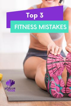 Do you find yourself running around in circles trying to get fit? If you are a fitness rookie, I want to share my top three fitness tips with you. Here are some common mistakes rookies make in fitness. Health And Fitness Tips, You Fitness, Fitness Goals, Weight Training, Weight Lifting, Strong Legs, Fitness Routines, Different Exercises, How To Run Faster