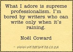 Quotable - Noël Coward - Writers Write Creative Blog