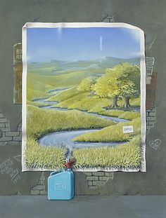 # 168 Bjorn Richter Quite a political statement on the environment.....