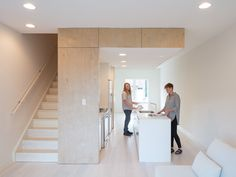 Outside-In House is a minimal apartment located in Philadelphia, Pennsylvania, designed by Interface Studio Architects Minimal Apartment, Modern Interior, Interior Design, Interior Ideas, Enclosed Patio, Plywood Sheets, Storey Homes, Architect House, Architecture Office