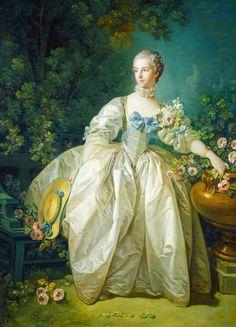 Madame Bergeret - François Boucher.