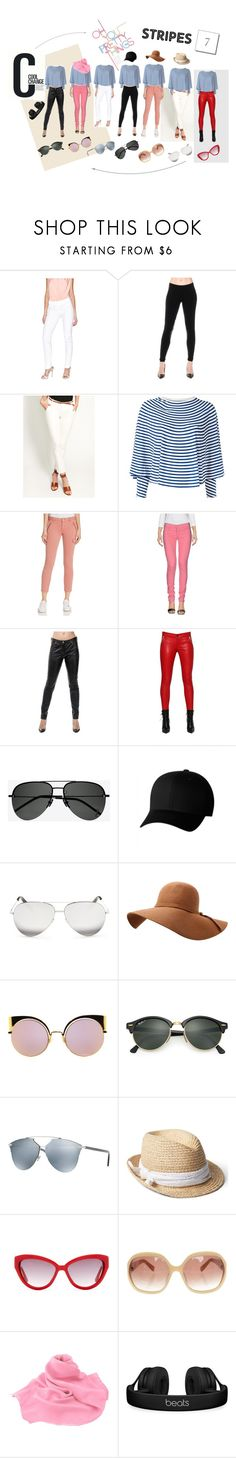 """""""7 in 1"""" by tripz on Polyvore featuring GUESS by Marciano, Ralph Lauren, MM6 Maison Margiela, Mavi, Cheap Monday, Roberto Cavalli, RtA, Yves Saint Laurent, Flexfit and Victoria Beckham"""