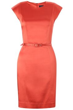 Weekday belted dress. I actually have a dress like this in hot pink. Very fun.. :D