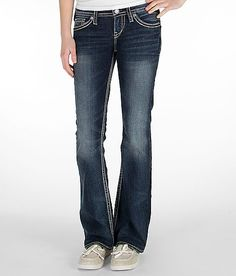 Silver Pioneer Stretch Jean