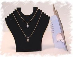 Necklace Stand Flocked Multi Chain Necklace Jewelry Holder. $1.70