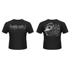 Cotton Crew Neck Short Sleeve Graphic T-Shirts for Men Death Metal, Rotting Christ, Cannibal Corpse, Crew Neck, Metalhead, Best Deals, Mens Tops, Cotton, T Shirt