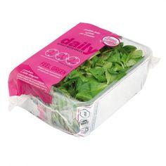 lamb's lettuce, valerianella #salad #packaging #designinsalate in busta