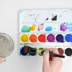 DIT: Getting the Most Out of Your Watercolors -Tutorial