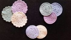 make-up runddeller Make-up rounddogs can be crocheted after this crochet recipe, you get the most beautiful make-up rounds and the recipe is easy to f. Love Crochet, Crochet Yarn, Crochet Pattern, Quilt Blocks Easy, Crochet Home Decor, Cloth Pads, Yarn Projects, Make Up, Kit