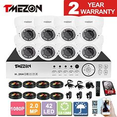 TMEZON 8CH AHD 1080P System CCTV Cameras Surveillance Security System 8x 2.0MP Night Vision Outdoor 2.8mm-12mm Zoom Lens AHD Camera 2TB HDD Review https://homesecuritycameras.review/tmezon-8ch-ahd-1080p-system-cctv-cameras-surveillance-security-system-8x-2-0mp-night-vision-outdoor-2-8mm-12mm-zoom-lens-ahd-camera-2tb-hdd-review/