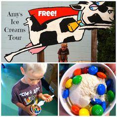 Free Fun in Austin: Free Amy's Ice Creams Tour