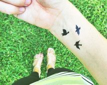 micro tattoos bird - Google Search