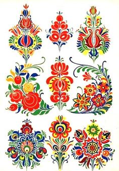 "Folk pattern from the book ""Slovenska ornamentika"""