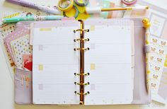 2015 Week on 2 Pages - Planner Insert Refills (Kikki k style) https://www.etsy.com/listing/208703561/printable-2015-week-on-2-pages-planner?