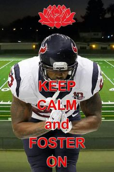 Yes!! Perfect!  Got my jersey ready for my first NFL game Sunday! #whoop #texansbeatsaints #foster