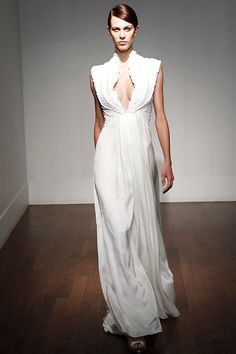 Caroline Seikaly bridal gown #wedding