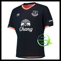 Fotballdrakter Everton Bortedraktsett 2016-2017 Uniform Design, Everton, Premier League, Mens Tops, T Shirt, Fashion, Supreme T Shirt, Moda, Tee Shirt