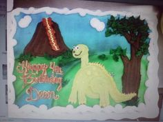 My son's 4th bday cake