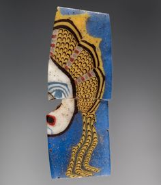 Cane Slice with Theatrical Mask. Greek or Roman. Alexandria (perhaps), Roman Empire, Egypt. cm in. Ancient Beauty, Ancient Art, Mosaic Glass, Glass Art, Cultural Artifact, Getty Museum, 1st Century, Mid Century Modern Art, Naive Art