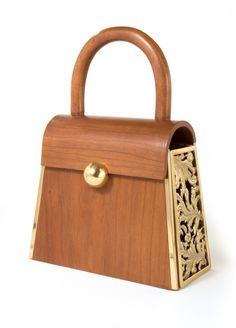 Wooden Clutch. Italianist.com