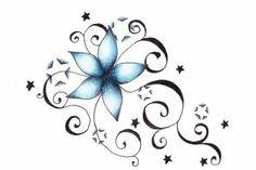 Flower tattoo patterns designs