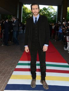Timeless 3-Piece Suits From 1930 to 2014: Perfect Wardrobe Jake Gyllenhaal 2013, at the Enemy film premiere