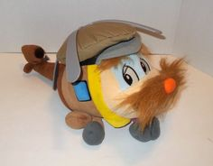 """RARE 1995 Lionel Budgie Helicopter 18"""" Plush Puppet From DUCHESS OF YORK TV Show - http://hobbies-toys.goshoppins.com/tv-movie-character-toys/rare-1995-lionel-budgie-helicopter-18-plush-puppet-from-duchess-of-york-tv-show/"""
