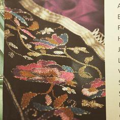 #kaftan #embroidered #velvet #black
