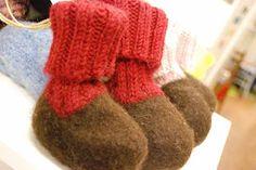 Varsitöppöset Knitted Hats, Gloves, Felt, Knitting, Felting, Tricot, Knit Caps, Cast On Knitting, Stricken