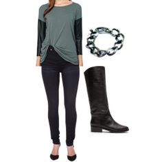http://blog.styleshack.com/ootd-edgy-chic-2/ #EdgyChic Style Outfit Inspiration.