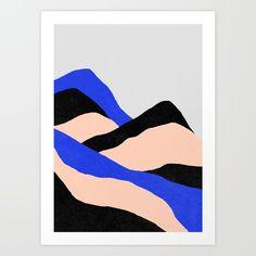 Buy Climb Art Print by Hanna Kastl-Lungberg.
