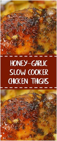 Honey-Garlic Slow Cooker Chicken Thighs – Fresh Family Recipes
