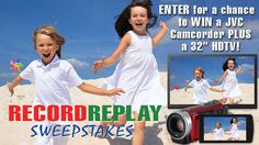 You should enter this bad boy:  Record/Replay Sweepstakes! There are great prizes and I think one of us  (mainly moi) could win!