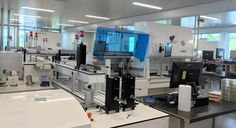 The good and bad of microbiology lab automation Medical Laboratory Science, Biomedical Science, White Lab, Lab Rats, Stem Science, Microbiology, Labs, Mathematics, Nerdy
