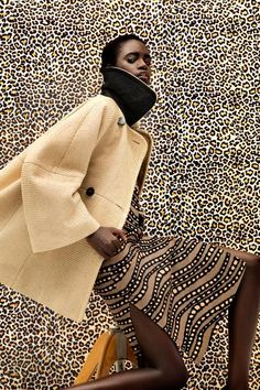 Editorial Culture --- Dieyna Ba, Black Fashion Models