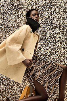 Editorial Culture --- Dieyna Ba, Black Fashion Models