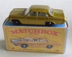Matchbox Car, the 1966 Opel Diplomat