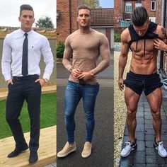 Trendy Ideas Tattoo For Guys Tricep Muscle Men Bulge Muscle Men Bulge, Stylish Men, Men Casual, Smart Casual, Outfits Hombre, Hommes Sexy, Muscular Men, Men Style Tips, Gorgeous Men