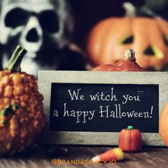 Halloween content and social media graphic sized for Facebook and Instagram with pumpkin, skull, and super cute Halloween pun! 🎃 Halloween Puns, Halloween Party Decor, Happy Halloween, Pumpkin Puns, Color Street, Ark, Cover Photos, Captions, Holiday Ideas