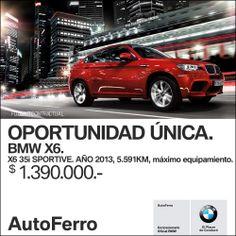 OPORTUNIDAD única en #BMW Auto Ferro. Te esperamos en Av Paseo Colón 1047!