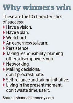 A good summary of how I best describe my most successful toronto real estate clients. A vision, a plan...