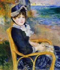 Auguste Renoir - By the Seashore ~ 1883