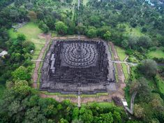 Borobudur was constructed between A.D 778 and 850 during the Shailendra Dynasty in Java, Indonesia. Declared a UNESCO World Heritage Site in 1991, Borobudur is shaped like a stepped pyramid with nine levels.