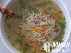Klasická hovězí polévka Ramen, Ethnic Recipes, Food, Essen, Meals, Yemek, Eten